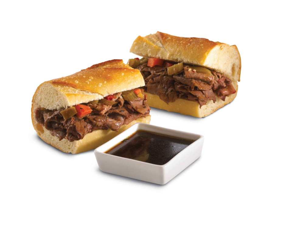 Photo - Beefs and Au Jus no background