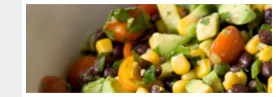 Citrus and Black Bean Pico de Gallo