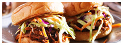 Fire-Roasted Ranchero Pulled Pork Sliders