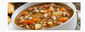 Beef Barley & Vegetable Soup