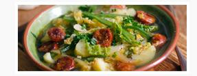 Portuguese Potato & Kale Soup