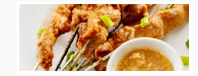Thai Roasted Chicken Satay