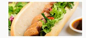 Vietnamese Bánh Mì Chicken Sandwich