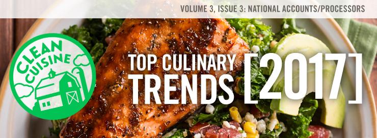 Top 10 Culinary Trends 2017: Clean Cuisine