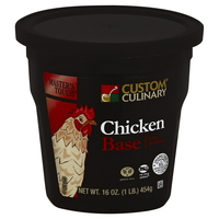 Custom Culinary® Master's Touch® Low Sodium Chicken Flavored Base