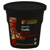 Custom Culinary® Master's Touch® Roasted Garlic Flavor Concentrate