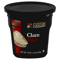 Custom Culinary® Master's Touch® Clam Base