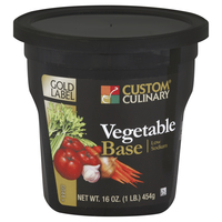 Custom Culinary® Gold Label Low Sodium Vegetable Base