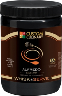 Custom Culinary® Whisk & Serve® Alfredo Sauce Mix