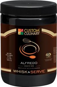 Custom Culinary® Whisk & Serve® Alfredo Sauce Mix
