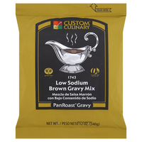 Custom Culinary® PanRoast® Low Sodium Brown Gravy Mix