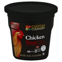 Custom Culinary® Master's Touch® All Natural Reduced Sodium Chicken Base