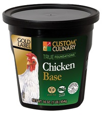Custom Culinary® Gold Label True Foundations™ Chicken Base