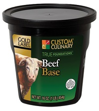 Custom Culinary® Gold Label True Foundations™ Beef Base