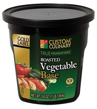 Custom Culinary® Gold Label True Foundations™  Roasted Vegetable Base