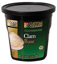 Custom Culinary® Gold Label True Foundations™ Clam Base