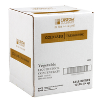 Custom Culinary® Gold Label True Foundations™ Vegetable Liquid Stock Concentrate
