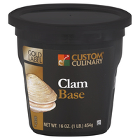 Custom Culinary® Gold Label Clam Base