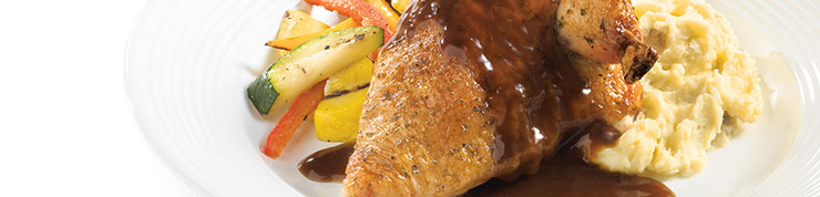 Custom Culinary® Master's Touch® Demi-Glace Sauce Concentrate