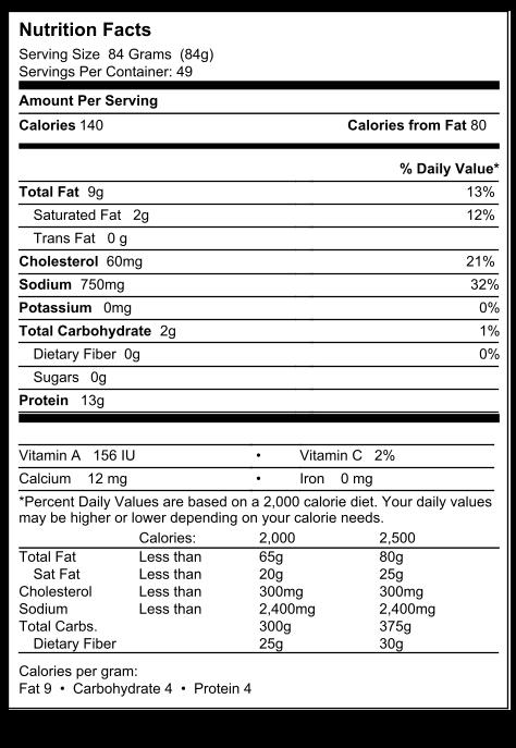 Wayne Farms - BUFFALOOS Fully Cooked Frozen Hot & Spicy Buffalo Chicken Wings (9 lb.) - Wayne Farms LLC FactPanel_2457923_10038483226843