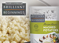 Brilliant Beginnings® Recipe-Ready Mashed Potatoes