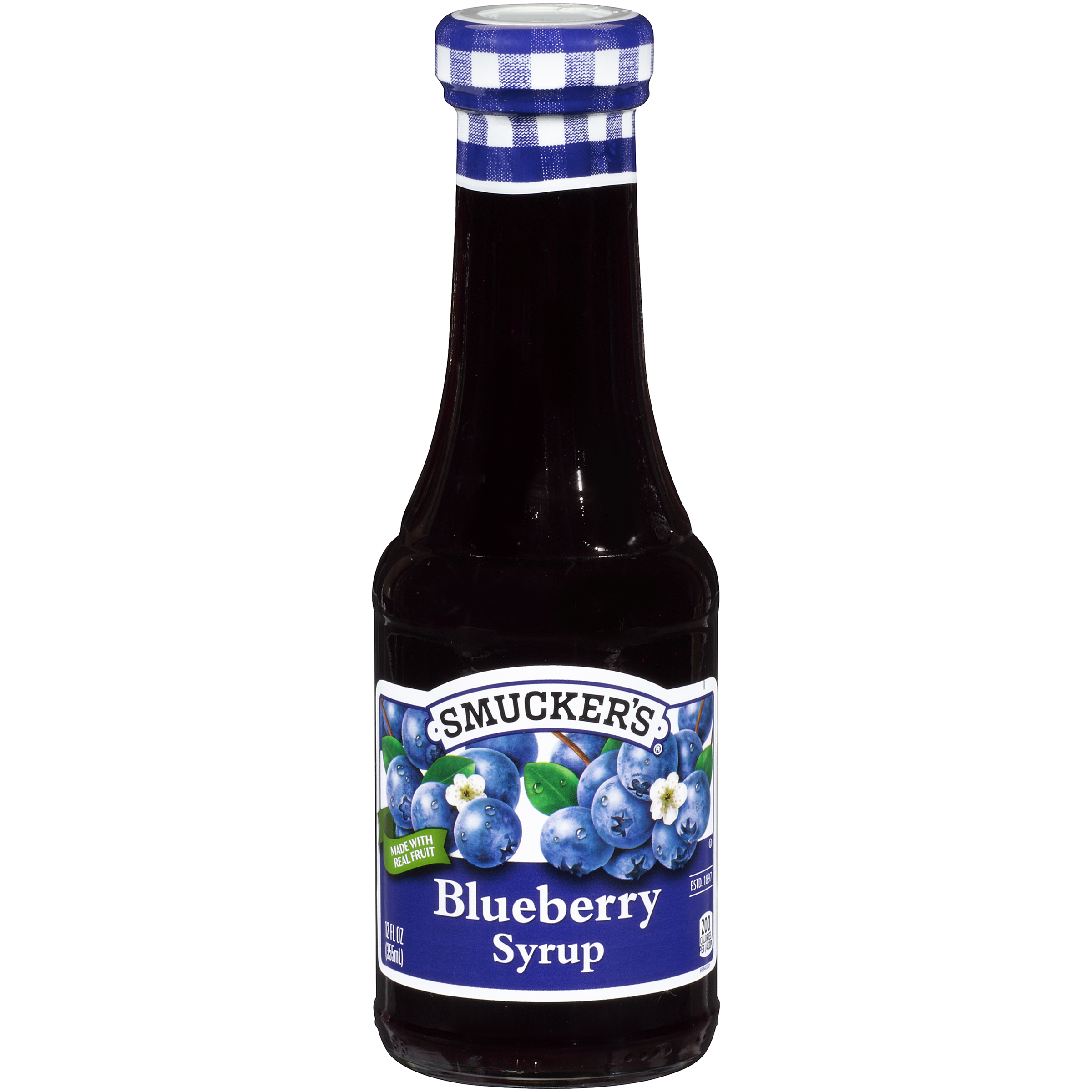 SMUCKER 12 FLUID OUNCES BLUEBERRY SYRUP - Smucker Foodservice