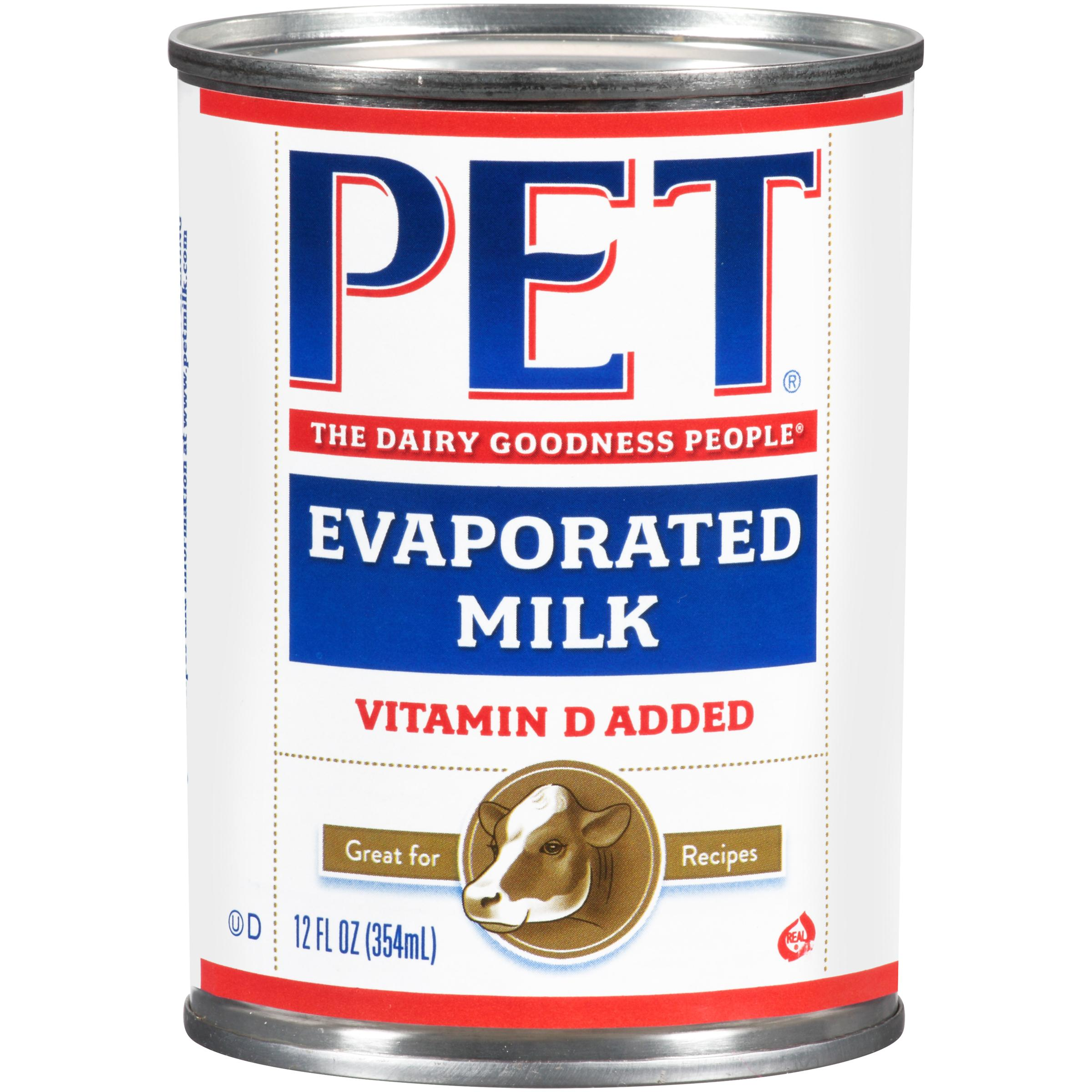 replacing evaporated milk with regular milk
