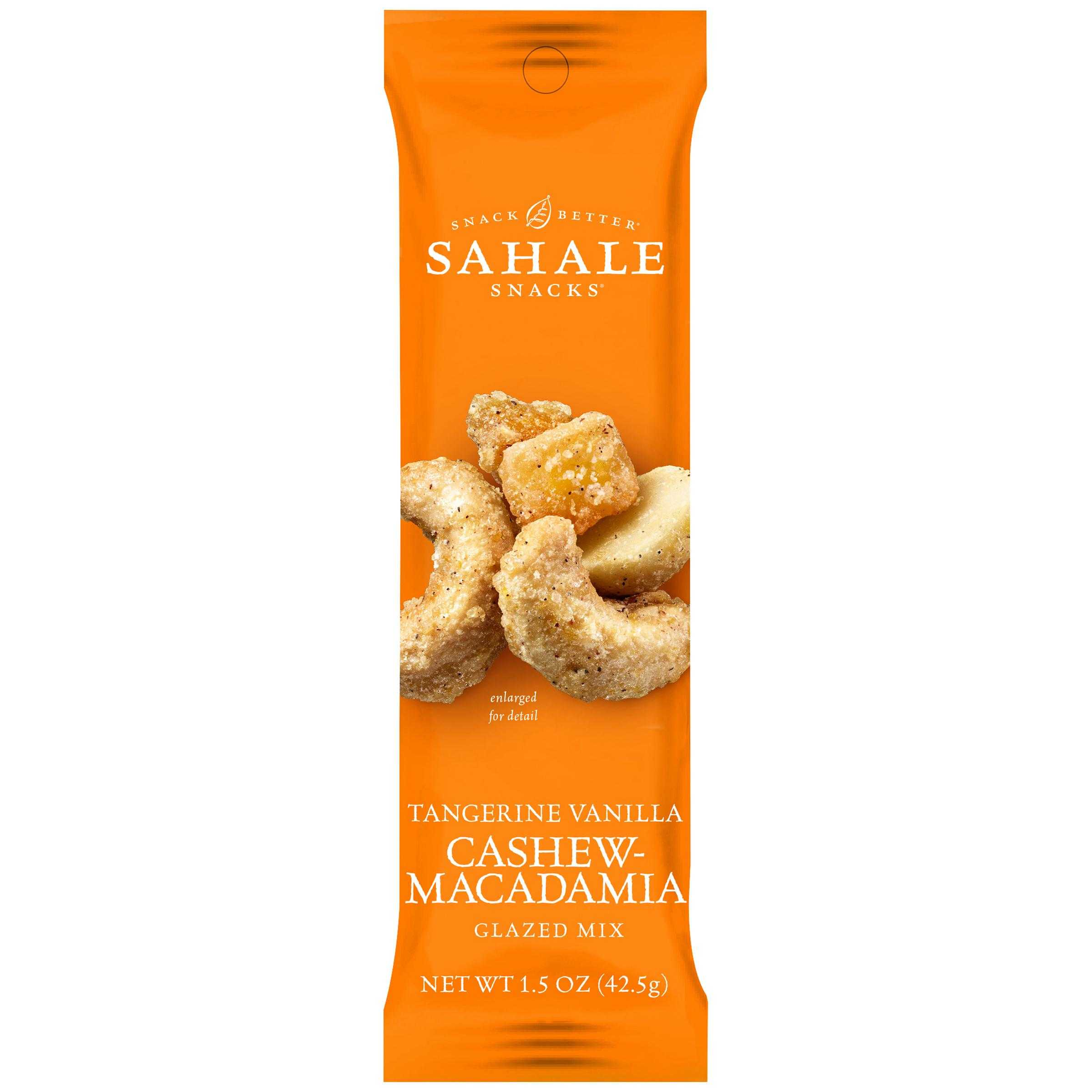 Sahale 1 5 Ounce Tangerine Vanilla Cashew Macadamia Glazed
