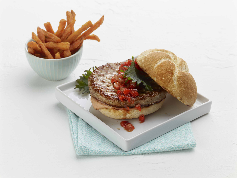 BB Savory White Turkey Burger - 5.33oz