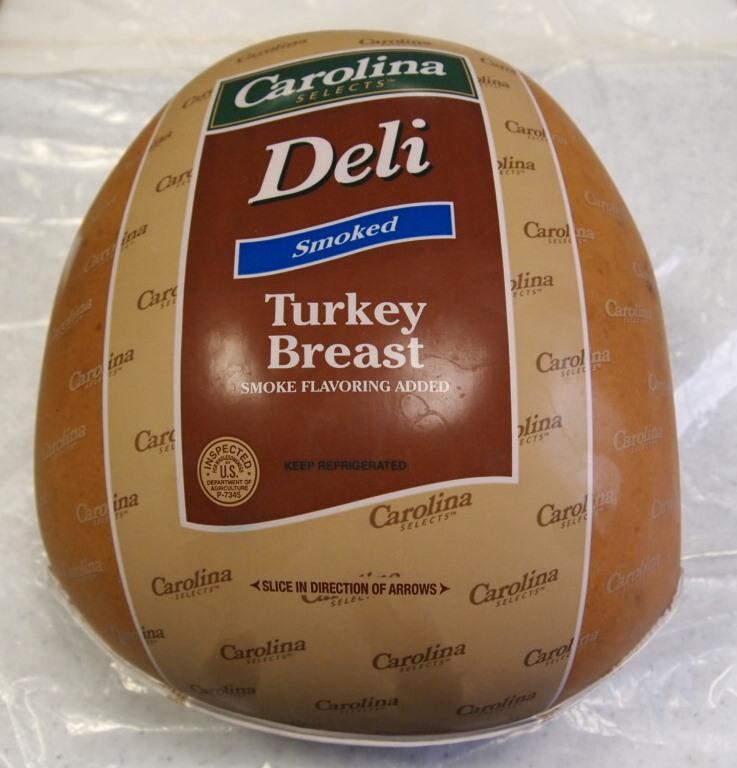Deli Smoked Skinless turkey Breast