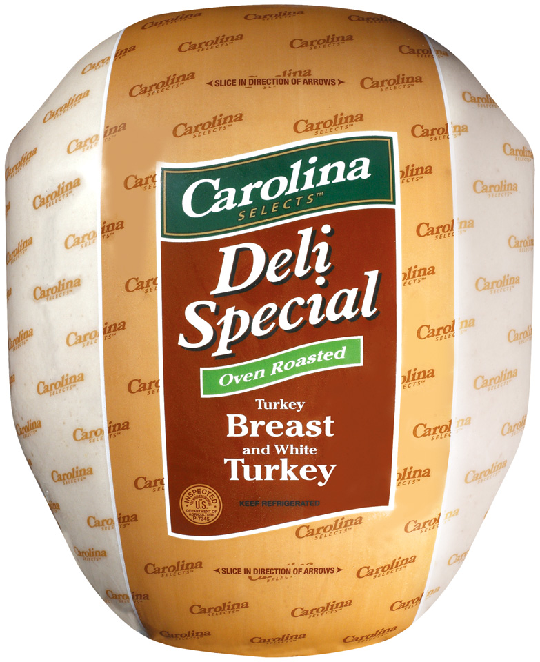 Selects Deli Special Oven Roasted Turkey Breast with White Turkey