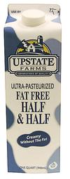 Ultra Pasteurized Fat Free Half & Half