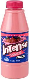 Intense Lowfat  Strawberry Milk *