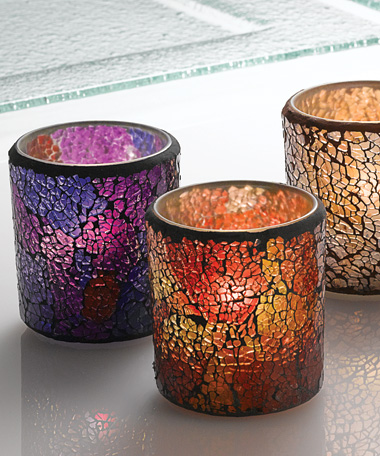 Crackle™ Votives