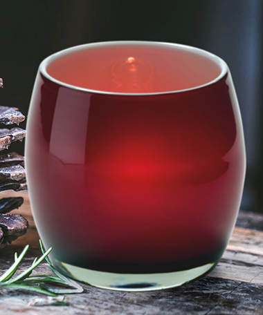 Product photo for Candy Apple™ Glass Votive