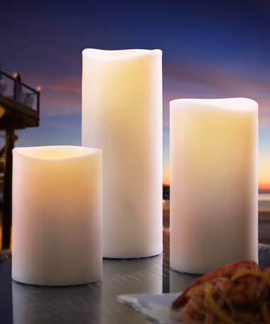 Truflame™ Indoor/Outdoor LED Pillars