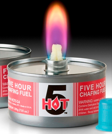 Product photo for Hot 5™ Liquid Wick Chafing Fuel