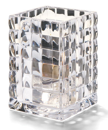 CLEAR OPTIC BLOCK GLASS  LAMP