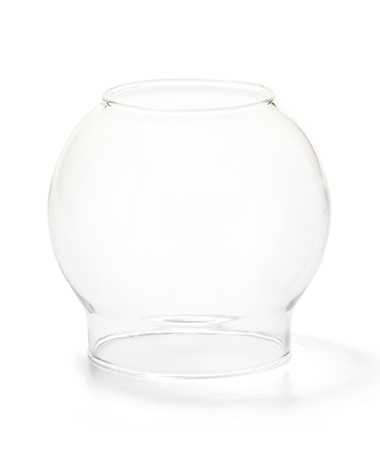 Clear Bubble Glass Globe