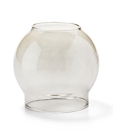 Smoke Bubble Glass Globe