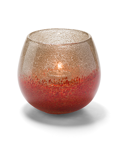 Hope Bubble Glass Votive Lamp