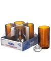 View details for Amber Typhoon™ Mid-Size Cylinder Lamp Shelf Pack w/HD12 - 4/Pack