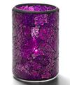 View details for Blue & Purple Crackle™ Glass Cylinder Lamp
