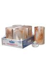 View details for Caramel Wysp™ Cylinder Glass Lamp Shelf Pack W/HD12 - 4/Pack