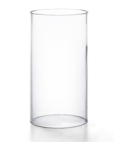 Clear Plastic Cylinder Globe