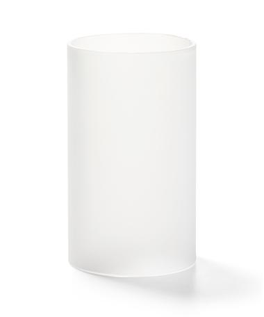 Satin Crystal Cylinder Glass Globe