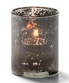 View details for Antique Black, Tealight Glass Cylinder Lamp