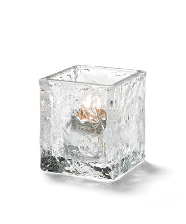 Glacier™ Tealight (Clear Glass)