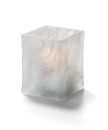 Glacier™ Tealight (Satin Crystal Wysp™)