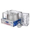 View details for Glacier™ Votive (Clear Glass) Lamp Shelf Pack w/HD8 - 4/Pack